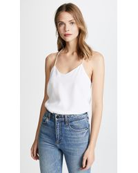 Tibi - Classic Racer Back Camisole - Lyst