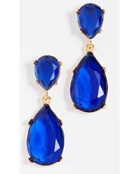 Kenneth Jay Lane - Teardrop Earrings - Lyst