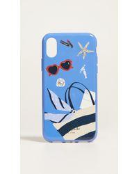 Kate Spade - Beach Bag Iphone X Case - Lyst