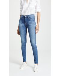 Hudson Jeans - Barbara High Waist Skinny Jeans - Lyst