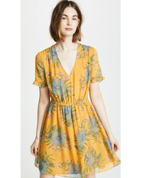 cd378feaa72ee3 Madewell - Sweetgrass Ruffle Sleeve Dress In Painted Blooms - Lyst