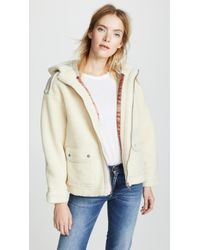 Scotch & Soda - Bonded Teddy Jacket - Lyst