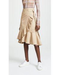 Edition10 - Ruffled Skirt - Lyst