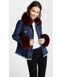 Tanya Taylor - Fur Trim Jacket - Lyst
