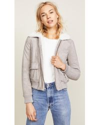 Cupcakes And Cashmere - Ira Reversible Bomber Jacket - Lyst