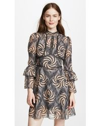 Anna Sui - Psychedelia Dress - Lyst