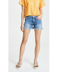 Hudson Jeans - Valerie Cutoff Bf Shorts - Lyst