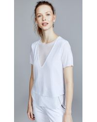 Koral - Double Layer Tee - Lyst