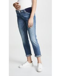 7 For All Mankind - Josefina Maternity Jeans - Lyst