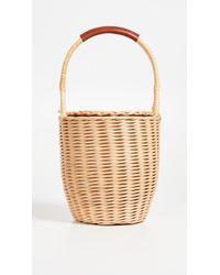 A.P.C. - Osier Wicker Basket - Lyst