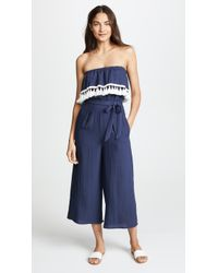 Suboo - Playa Strapless Jumpsuit - Lyst