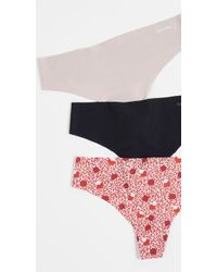 Calvin Klein - Invisibles Thong 3 Pack - Lyst