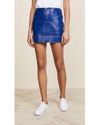 Courreges - Mini Swallows Skirt - Lyst