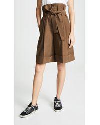Golden Goose Deluxe Brand Short Naomi Shorts - Brown