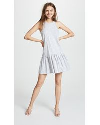 Rebecca Taylor - Embroidered Jersey Dress - Lyst