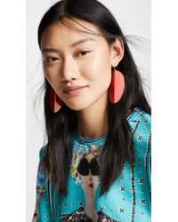 Simon Miller - Large Pedal Earrings - Lyst