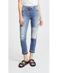 Belstaff - Cardwell Distressed Jeans - Lyst