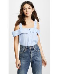 English Factory - Sleeveless Top - Lyst