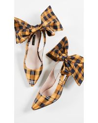 Mother Of Pearl - Bow Slingback Heels - Lyst