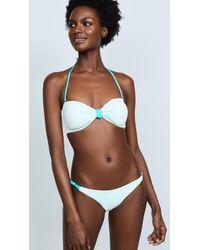 Eberjey - So Solid Lulu Bikini Top - Lyst