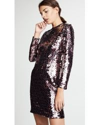 McQ - Relaxed Long Sleeve Dress - Lyst