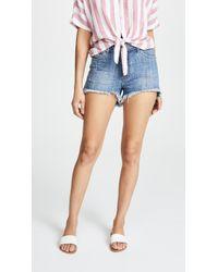 One Teaspoon - High Waist Bonita Denim Shorts - Lyst