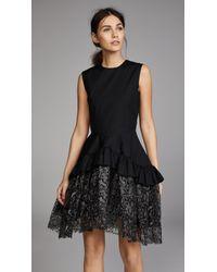 Jourden - Ruffled Dress - Lyst