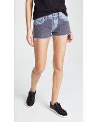Hudson Jeans - Kenzie Cutoff Shorts - Lyst