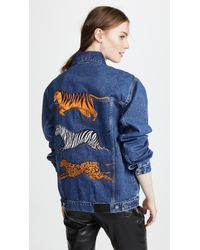Katya Dobryakova - Animals Denim Jacket - Lyst