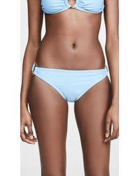 Shoshanna Steel Blue Bikini Bottoms