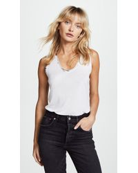 Zadig & Voltaire - Tam Foil Tank - Lyst
