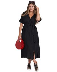 BURU White Label - Mama Wrap Dress - Lyst
