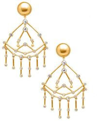 Rachel Zoe - Mckenna Chandelier Earrings - Lyst