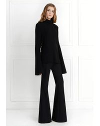 Rachel Zoe | Peterson Ring-detail Turtleneck Knit Jumper | Lyst