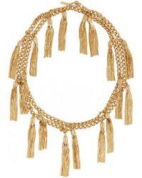 Rachel Zoe - Hazel Multi-tassel Necklace - Lyst