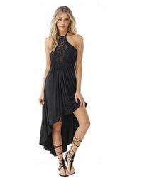 Sky - Pancrazio High Low Dress - Lyst