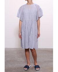 Étoile Isabel Marant - Annabelle Dress In Light Blue - Lyst