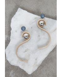 Rachel Comey - Arrow Earrings In Bone/silver - Lyst