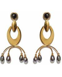 Lizzie Fortunato - Gazelle Earrings - Lyst