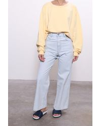 Rachel Comey - Mingle Sweatshirt In Lemon - Lyst