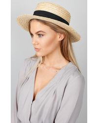 Showpo   By The Harbour Hat In Sand   Lyst