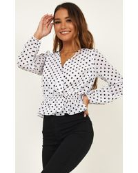 Showpo - Gentle Touch Top - Lyst