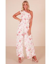 Showpo - Long Lost Love Jumpsuit - Lyst