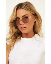 3947c1c77 Illesteva Marlene Sunglasses I Lilac / Creamsicle With Honey See Through  Lenses - Lyst