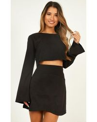 Showpo - Cut To The Feeling Two Piece Set - Lyst