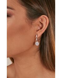 Showpo - Lonely With You Earrings In Silver - Lyst