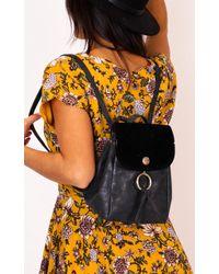 Showpo - Mayday Bag In Black - Lyst