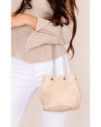 Showpo - Inclination Bag In Beige - Lyst