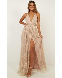Showpo - New York Nights Maxi Dress - Lyst