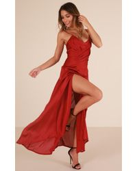 Showpo - Vip Access Maxi Dress - Lyst